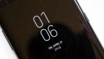 More of the same? Galaxy S9 should adopt the same screen pattern as the Galaxy S8