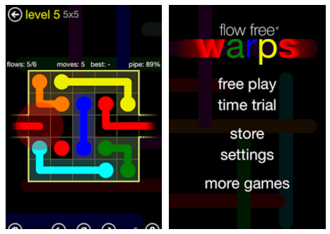Flow Free: Warps for PC