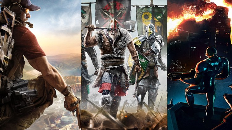 The best games Released in 2017 & coming Soon For PC , Xbox , PlayStation