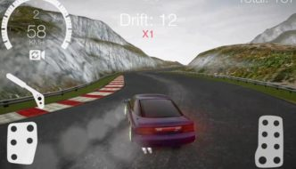 Drift Hunters: skidding in an offline game for Android, Also Available On PC