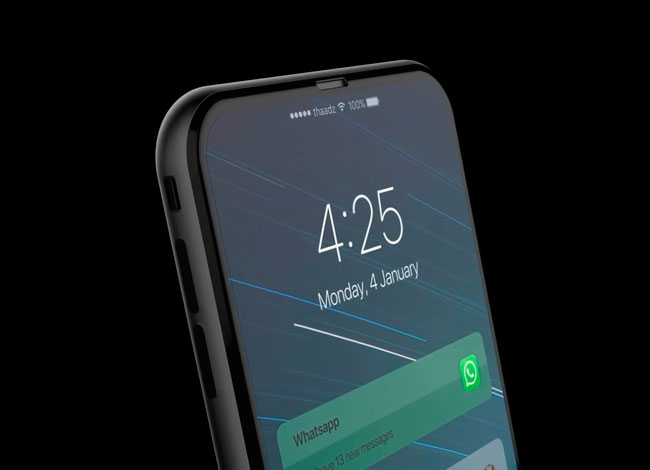 These videos show part of the assembly line of the iPhone 8 ... Or not ...