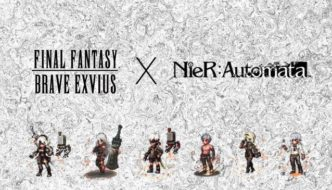 NieR: Automata will make a 2D spike in FINAL FANTASY BRAVE EXVIUS Now Available On PC & Mac