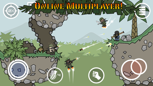 Doodle Army 2: Mini Militia For PC
