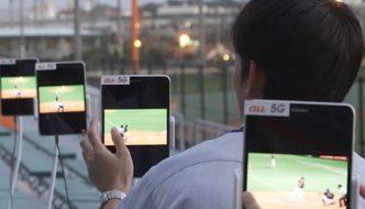 5G network testing in Japan