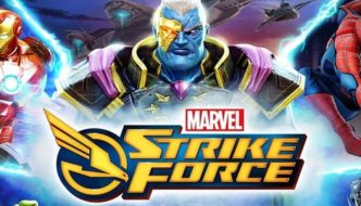Gather the greatest Marvel heroes and villains to save Earth in Marvel Strike Force