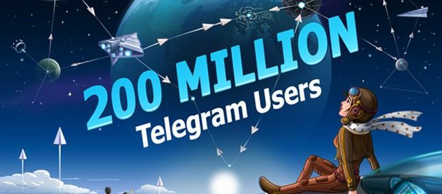 Telegram announces 200 million monthly active users