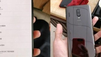 Another copy? OnePlus 6 should support gestures for navigation