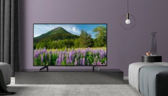 Sony announces three models of the new XF series of TVs with HDR support