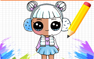 How To Draw LOL surprise step by step Dolls For PC (Windows & MAC)