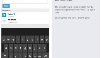 Twitter stops working on windows phone