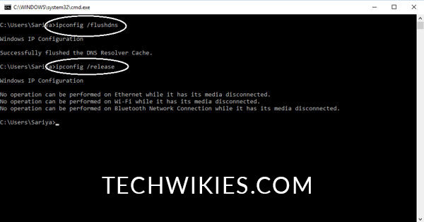 Commands-for-ipconfig-in-Command-Prompt