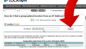 How to use the Ip Address Finder