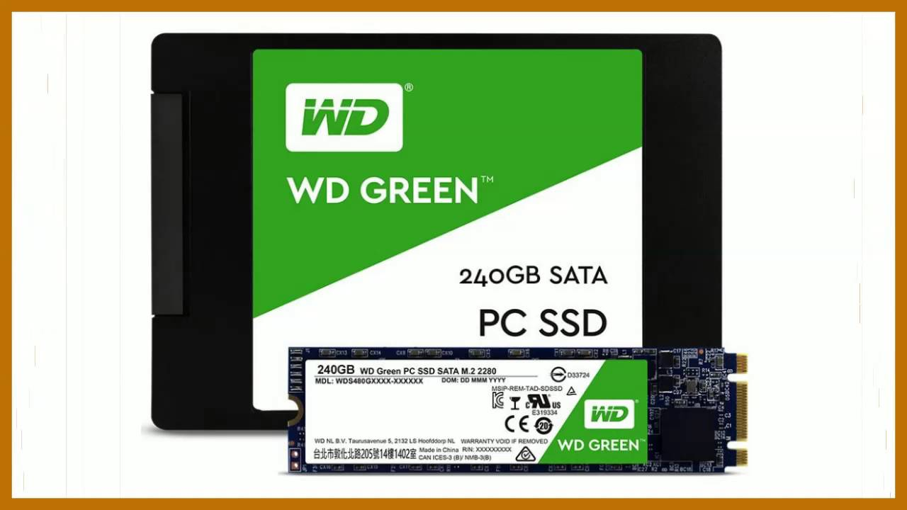WD Green 240GB - The cheap SSD to swap for your slow HD