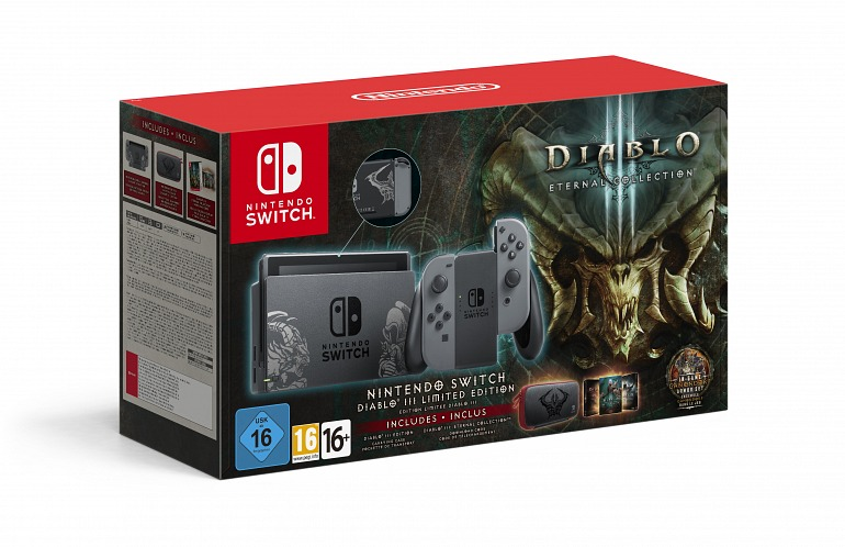 Nintendo Switch Presents its Special Edition of Diablo 3