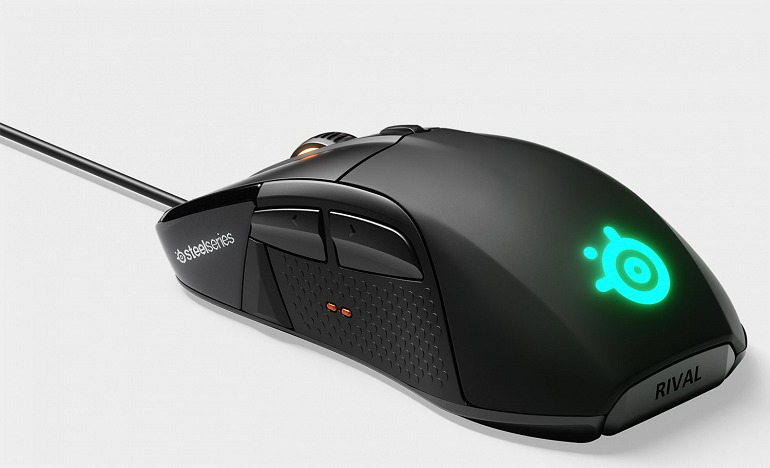 The SteelSeries Rival 650 is a Fast Loading Mouse with 2 Sensors