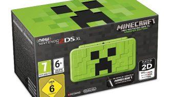 Nintendo Presents New Nintendo 2DS XL Based on Minecraft