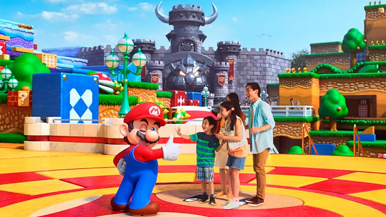 Nintendo begins construction of its amusement park