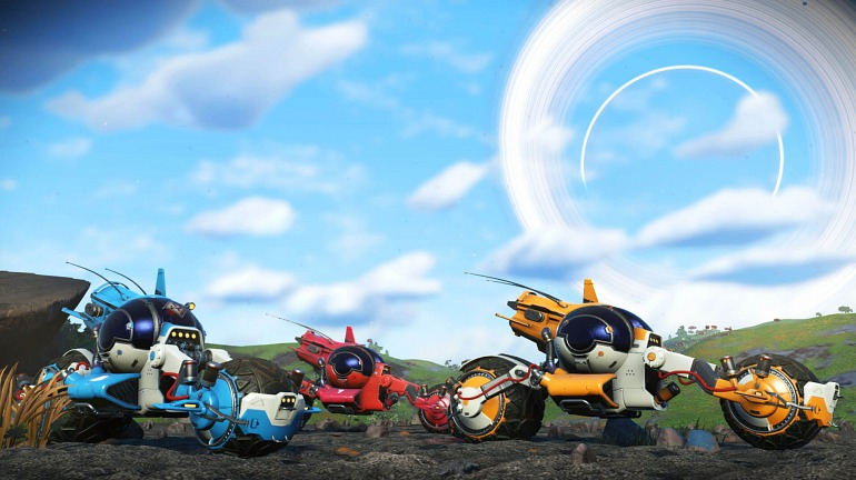 The Bikes Arrive at No Man's Sky thanks to their New Update