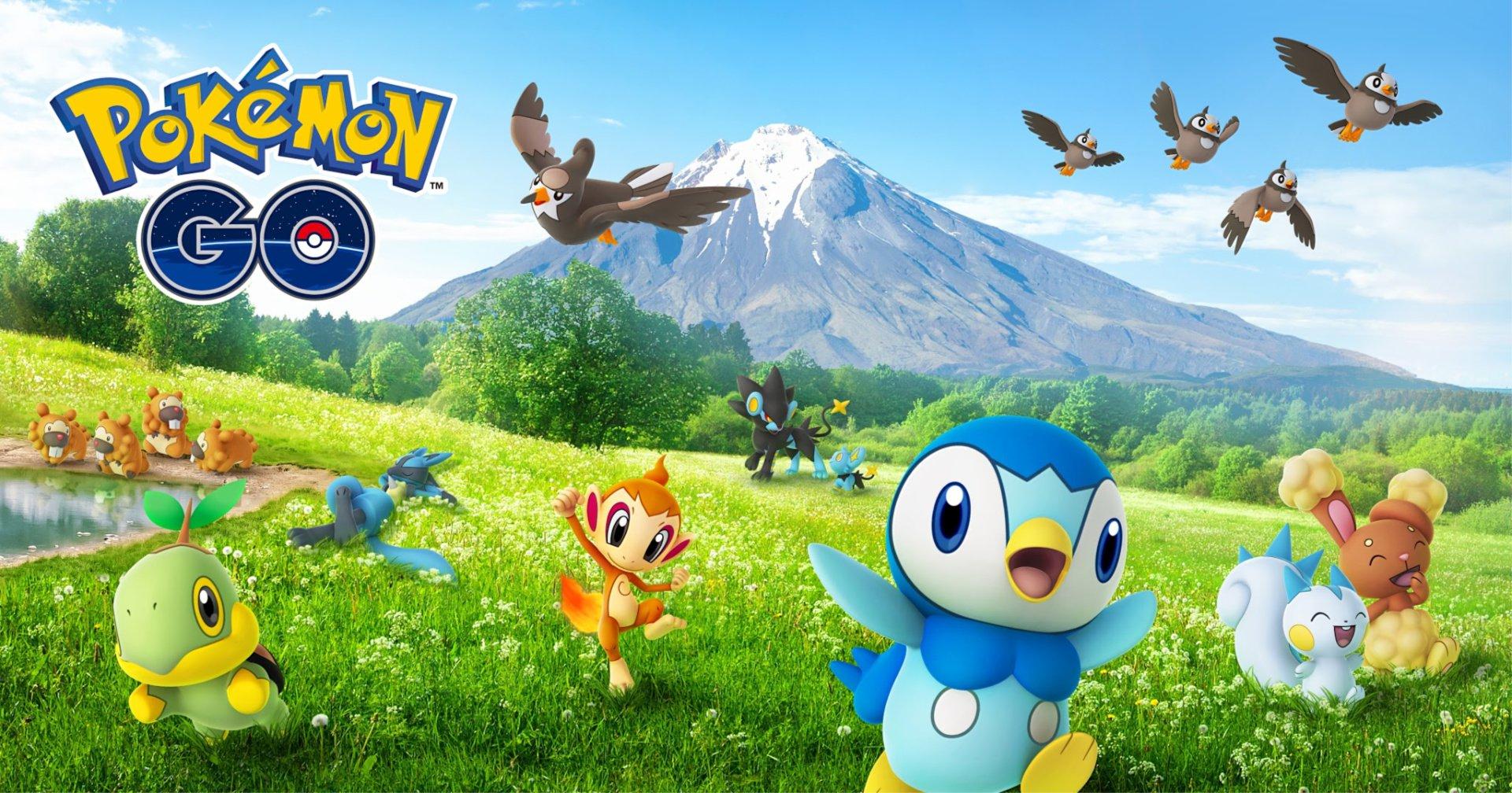 Sinnoh Creatures Are Already Roaming Pokémon GO