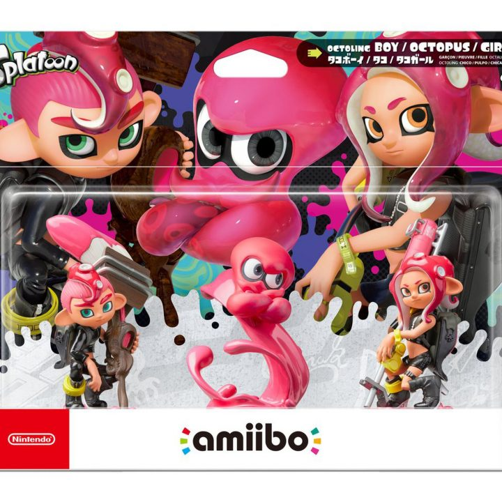The New Amiibo of Splatoon 2 Unlock these Contents