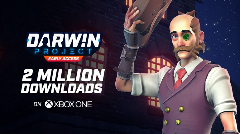 Darwin ProjectExceeds Two Million Downloads on Xbox One