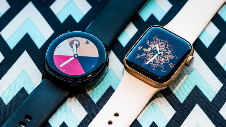 Apple Watch Series 4 vs. Galaxy Watch Active