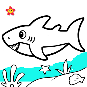 Baby Shark Coloring and Drawing For PC (Windows & MAC)