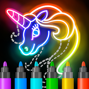 Learn to Draw Glow Cartoon For PC (Windows & MAC)