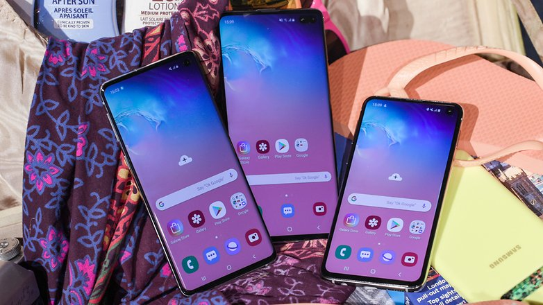 Samsung Galaxy S10/S10+/Note9