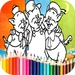 Coloring 3 Little Pigs Games For PC (Windows & MAC)