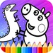 Coloring Book For Pepa Funny Pig For PC (Windows & MAC)