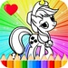 Coloring Book for Pony For PC (Windows & MAC)