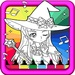 Magical Girl Coloring Book For PC (Windows & MAC)