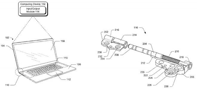 Patent has a completely new and resistant hinge