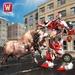 Super Robot VS Angry Bull Attack Simulator For PC (Windows & MAC)