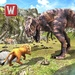 T-rex dino & angry lion attack For PC (Windows & MAC)