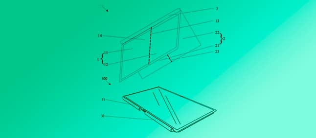foldable notebook