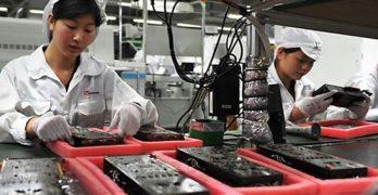 manufacture iPhones