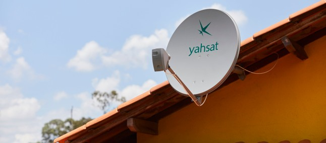 receive satellite broadband from Yahsat