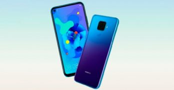 Huawei Nova 5i Pro: Promotional images show the handset in three color options