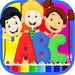 Letters And Numbers Coloring Book For PC (Windows & MAC)