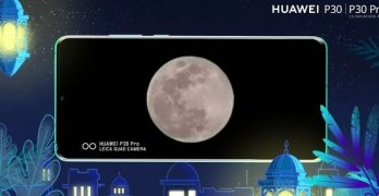 Huawei has new patent with method to make photos of the Moon sharper