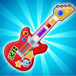 Pink Real Guitar for Kid - Music Kids For PC (Windows & MAC)