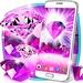Pink diamonds live wallpaper For PC (Windows & MAC)