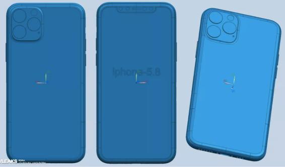 The iPhone 11 design