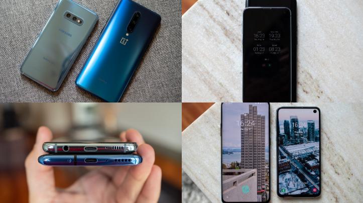 OnePlus 7 Pro and Galaxy S10e