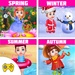 Season Learning Activities Kids Educational Game For PC (Windows & MAC)