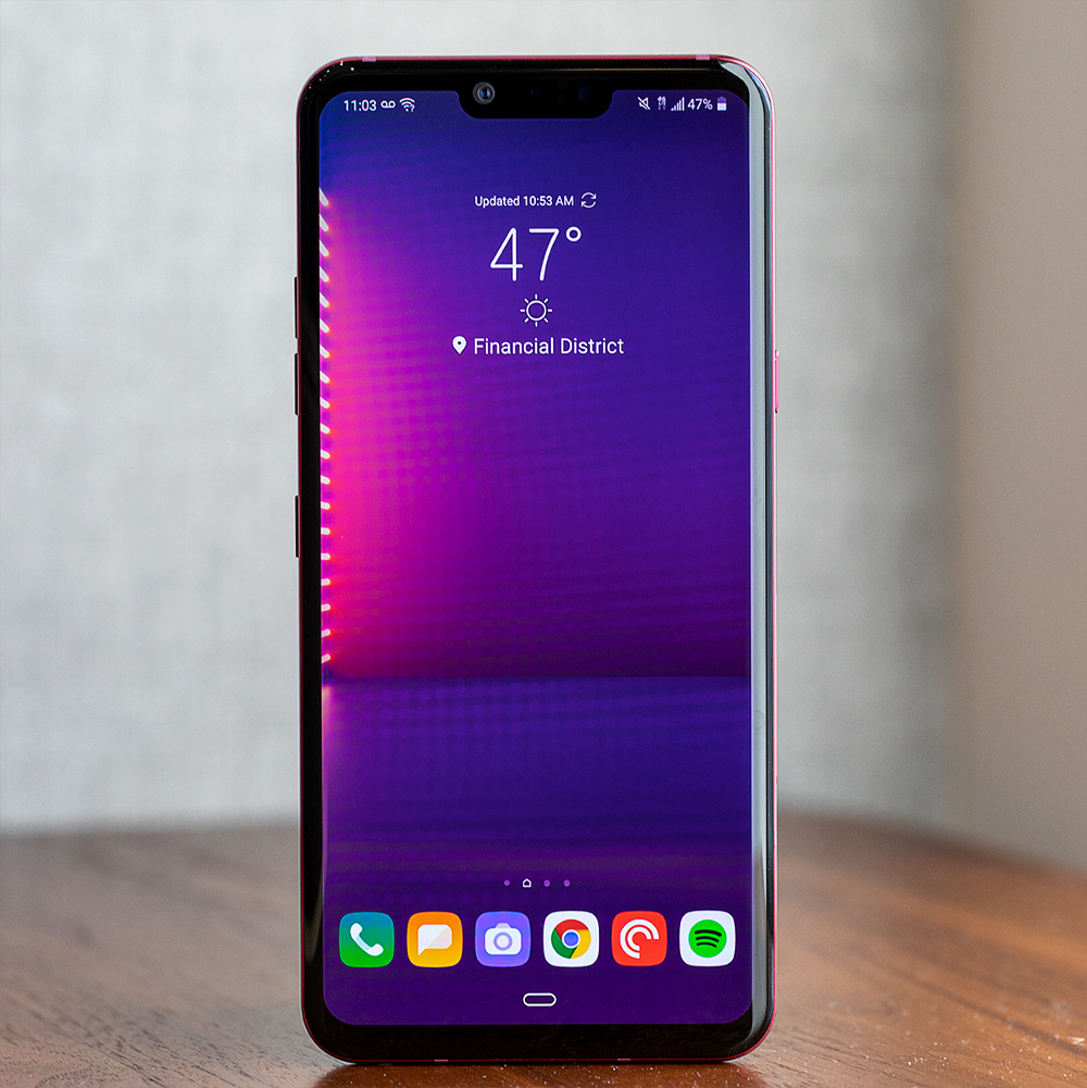 Best wired audio:LG G8 ThinQ