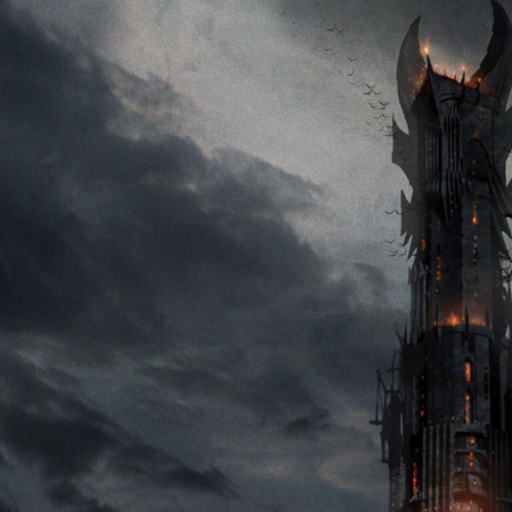 Lord of the Rings Barad-Dûr Tower S10 by u/kjellolz