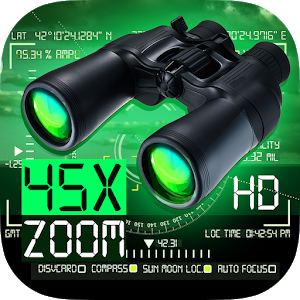 Binoculars LRS 45x zoom (Night Mode) For PC (Windows & MAC)